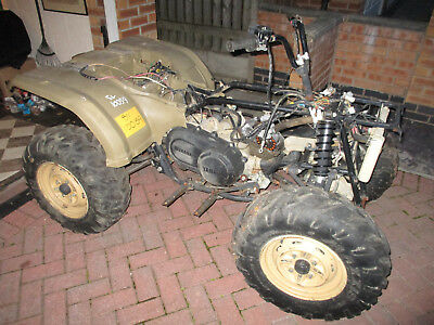 Ex Military Yamaha Grizzly 450 IRS Quad Spares or Repair With Paperwork