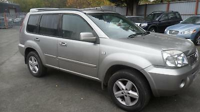 2004 Nissan X-Trail Sport 2.5 Petrol,spares Or Repairs,engine Fault,drive Away