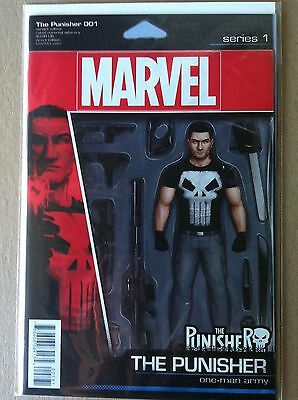 Punisher (2016) #1 Action Figure Variant Cover Cloonan Dillon Nm 1St Printing