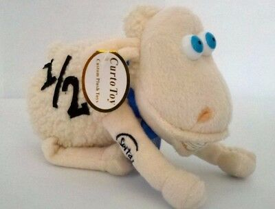 serta mattress sheep. Serta Mattress Counting Sheep Plush Stuffed Animal Doll # 1/2 W/ Braces 6