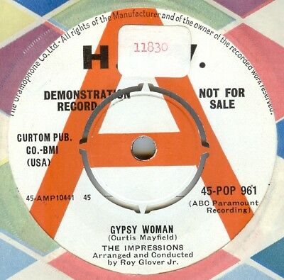 The Impressions***gypsy Woman***demo***soul***listen To It