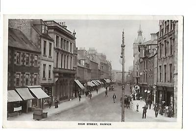 Hawick. High Street. R/P. Posted at Hawick.