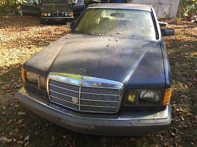 1983 Mercedes-Benz 300-Series  1983 Mercedes Benz 300SD Turbo Diesel No Reserve