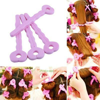 6pcs Sponge Hair Curling Curls Sleeping Beauty Hair Curlers Hairdressing Tools