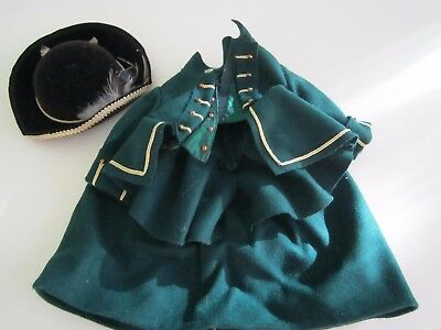 American Girl FELICITY Riding Outfit Skirt Jacket Hat Original 1990's Pleasant C