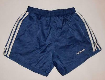RETRO VINTAGE SHORTS ADIDAS (M) Nylon Running Jogging Sprinter Shiny Glanz Gym