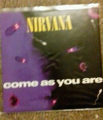 """Nirvana 'Come as you are ' 7"""""""
