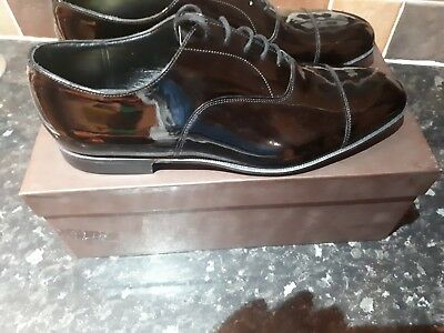 Church's shoes Brand new with box Sackville UK 8.5 Black patent leather