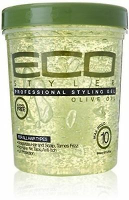 ECO STYLER MAXIMUM HOLD ALCOHOL FREE STYLING GEL OLIVE OIL  (32 oz)