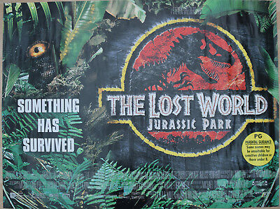 The Lost World - Jurassic Park (1997) Quad Movie Poster