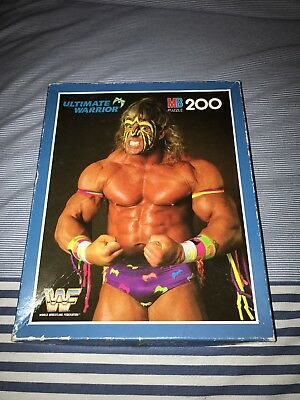 WWF WWE Ultimate Warrior 200 Piece Jigsaw Puzzle