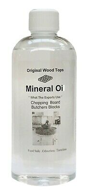 Mineral Oil  - Food safe-cutting board Pure oil - 500ml natural earth oils