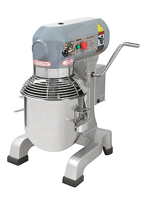 Adcraft Planetary 10 QT Mixer with 3 attachments