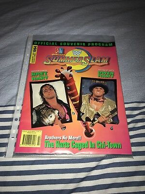 WWF WWE Official Summer Slam 1994 Souvenir Program