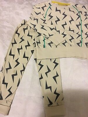 Boys And Girls Shop Unisex Top And Leggings, Size 3-4 Years