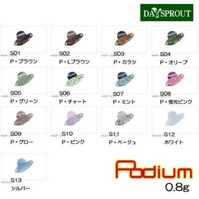 DAY SPROUT PODIUM 0,8 gr spoon Trout Area  japan LURE