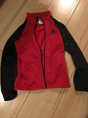 Boys Adidas Tracksuit Top Age 9-10