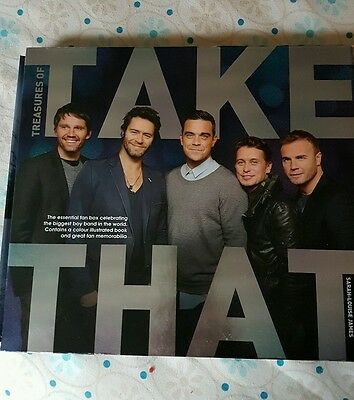 Treasures of Take That book
