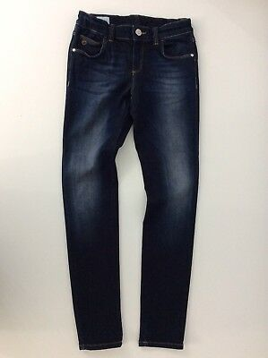 Gucci Boys Skinny Jeans, Size Age 8 Years, Dark Indigo Blue WORN ONCE, Rrp £238