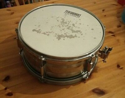 """Performance percussion  14""""x7"""" steel snare drum"""