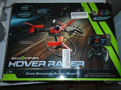 Sky Viper Hover Racer Battle Drone w Checkpoint beacons