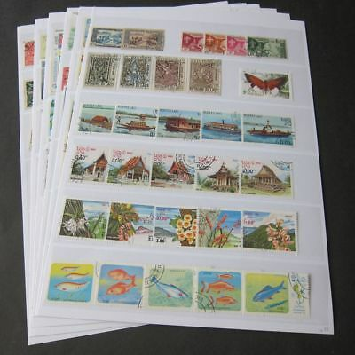 Laos 1900s used collection 176 stamps