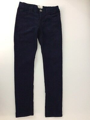 Gucci Boys Slim Fit, Corduroy, Trousers, Size Age 8 Years, Navy Blue WORN ONCE