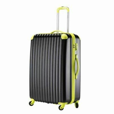 """Fashion 28"""" Travel Luggage Set Bag ABS Trolley Spinner Suitcase Trolley Carry On"""