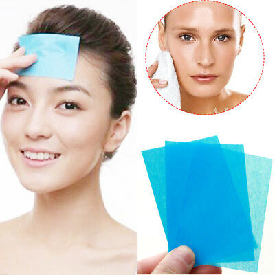 Two Packs Oil Control Tissues Grease Shine Oil Absorbing Face Blotting Paper