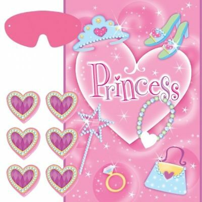 Party Games Princess Party Game for 2 to 12 Players Pink Girls Birthday Party