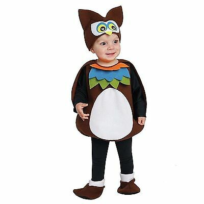 Totally Ghoul Owl Vest Halloween Infant/Toddler Costume Size 1-2 yrs - NWT