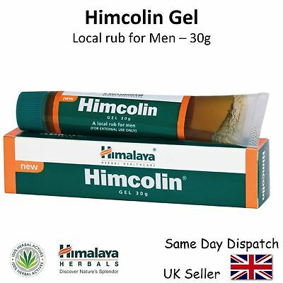 Himalaya Herbals Himcolin Gel - Premature & Erectile Dysfunction - 30g Tube