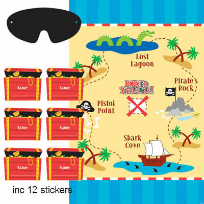 Party Games Pirate Party Game for 2 to 12 Players Pirate Birthday Party