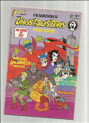 Ghostbusters #1 {Feb 1987 First Comics} F- 1St Ever Ghostbusters Comic!!