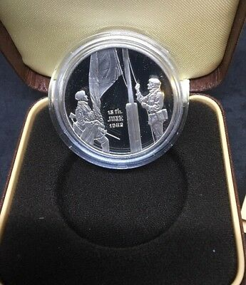 1982 Liberation Of The Falkland Islands Silver Proof Cased Medal***Collectors***