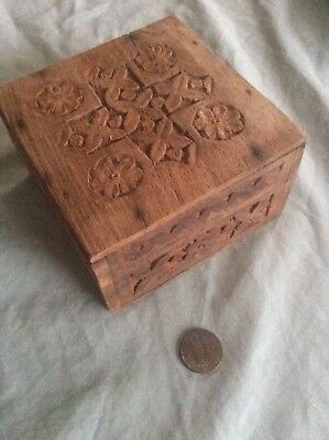Wooden Box Write Wishes Unto Djinns Place Inside To Be Granted