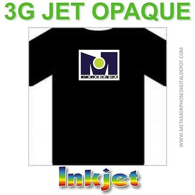 3G Jet Opaque Heat Transfer Paper 8.5 x 11 35 Sheets
