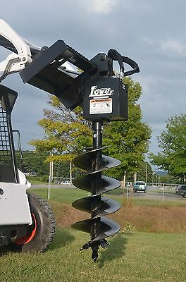 """Bobcat Skid Steer Attachment Lowe 750 Classic Round Auger with 18"""" Bit Ship $199"""