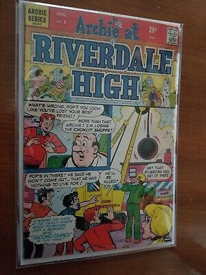 Archie At Riverdale High #1 1972 VF Archie Series Comic