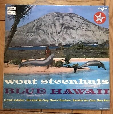 Wout Steenhuis- Blue Hawaii- Vinyl Record