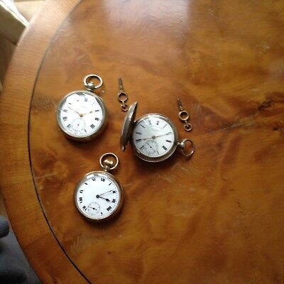 Collection Of Working Pocket Watches