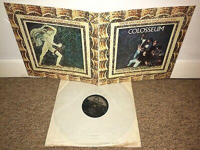 COLLOSEUM Those Who Are About To Die Salute You LP Fontana 1969 UK 1st!
