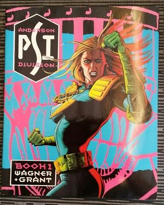 Judge Anderson a set of 4 graphic novels from Titan Books