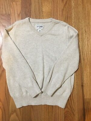The Childrens Place Cream/Light Tan Sweater Boys Size 5/6