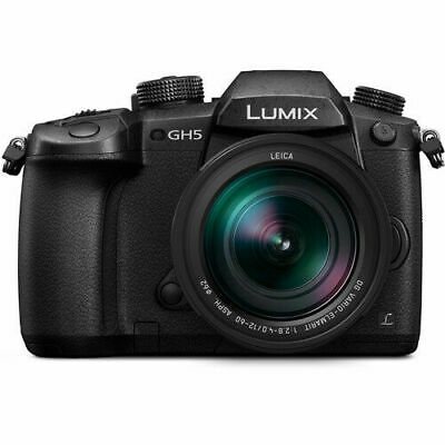 Panasonic Lumix DC-GH5 Mirrorless Micro 4/3 Digital Camera w/12-60mm Lens