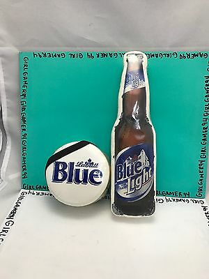 Lot of 2 Labatt Blue Beer Compressed T-Shirts - Promotional Beer T-Shirt - NEW !
