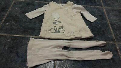 Baby girl 3pcs outfit set size 0-3 mths by Disney/George
