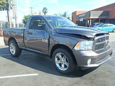 2014 Dodge Ram 1500 Express 2014 Dodge Ram 1500 Regular Cab Wrecked Rebuilder Perfect Project Priced to Sell