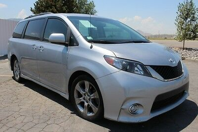 2013 Toyota Sienna SE 2013 Toyota Sienna SE Damaged Salvage Repairable Lots of Options Export Welcome!