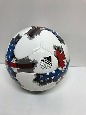 Adidas MLS 2017 Official Match Soccer Ball NATIVO USA CANADA Size 5 NEW NWOB